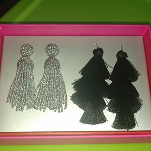 Baublebar set of earrings